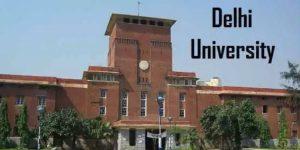 Delhi University DU