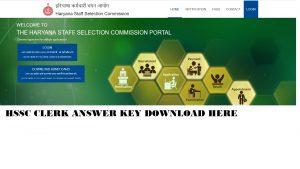 Haryana HSSC Clerk