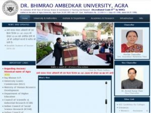 Dr BRAU Agra University