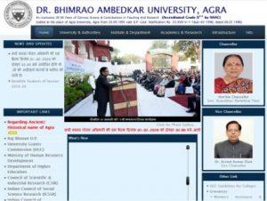 Dr BRAU Agra University
