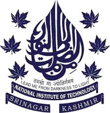NATIONAL INSTITUTE OF TECHNOLOGY SRINAGAR Online Form 2020