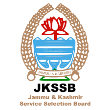 JKSSB Various Post Online Form 2021 For 232 Post